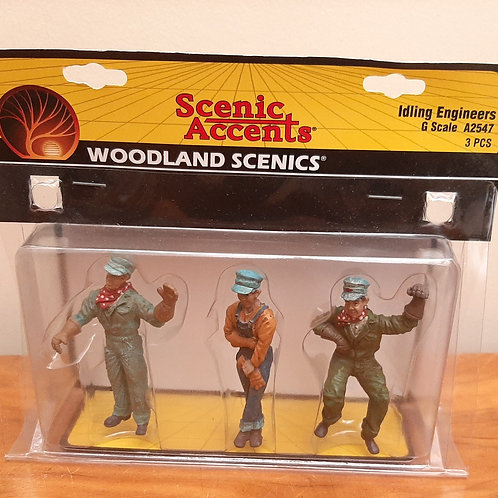 Woodland Scenic G Scale A2547 Idling Engineers