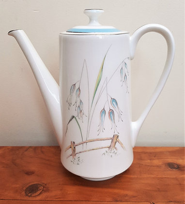 Aynsley China Coffee Pot Flying Wild