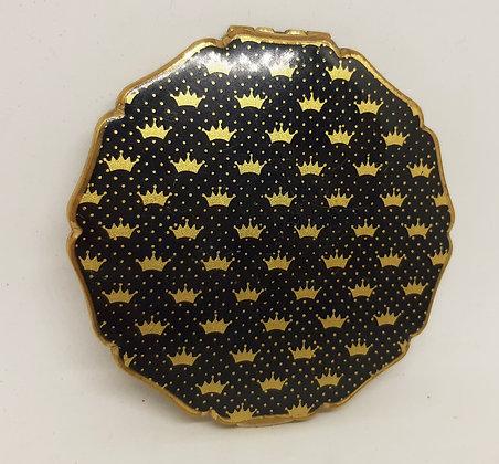 Stratton Princess O/HBlack Gold Crown & Polka Dots