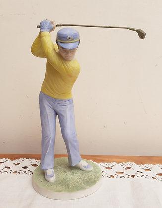 "Coalport ""First Tee"" Golfer Figurine"