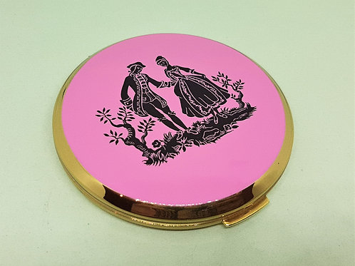 Stratton Convertible Bubblegum Pink & Black Regency Couple