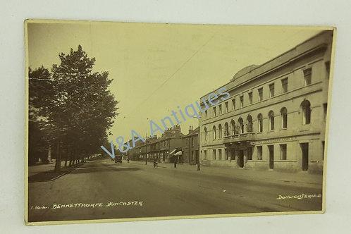 Donlion RP Postcard Bennetthorpe Doncaster
