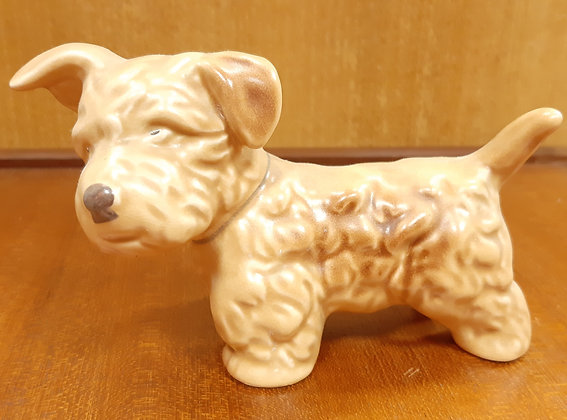 SylvaC Small Sealyham Dog 1122 Beige