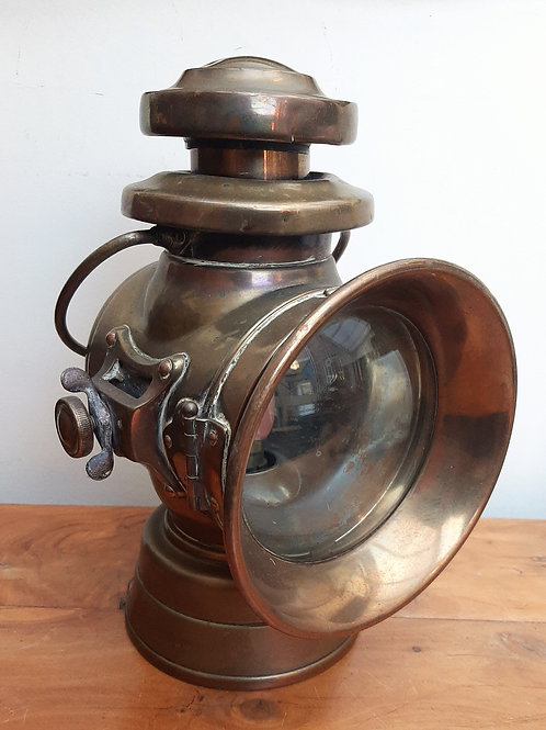 Lucas KING of the ROAD Car/Carriage Lamp 744 Converted