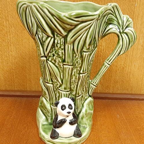 SylvaC 5574 Green Bamboo Jug with Panda