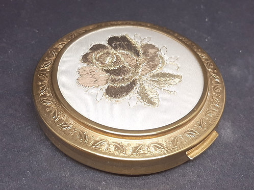 Regent of London Gold Embroidered Silk Rose