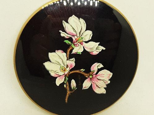 Stratton Slim Convertible Magnolia Flowers Unused Complete