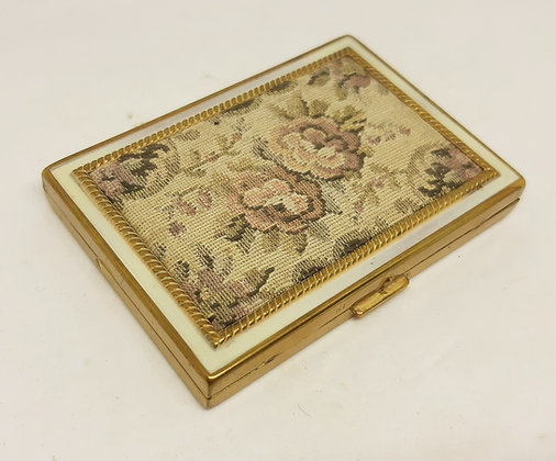 REX 5th Avenue Powder Compact Rose Tapestry