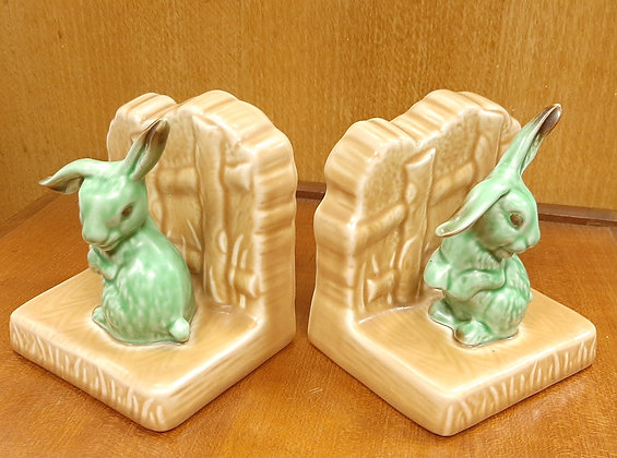 SylvaC Lop Eared Rabbit Bookends 1546