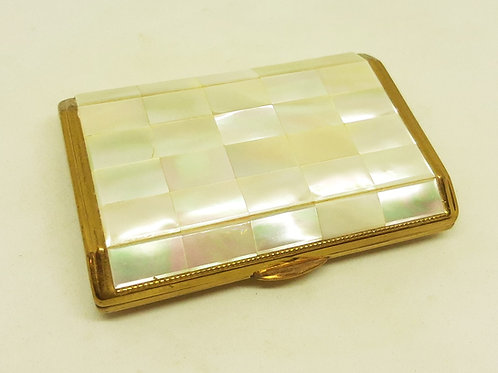 Melissa Mother of Pearl Pillow Shaped Compact