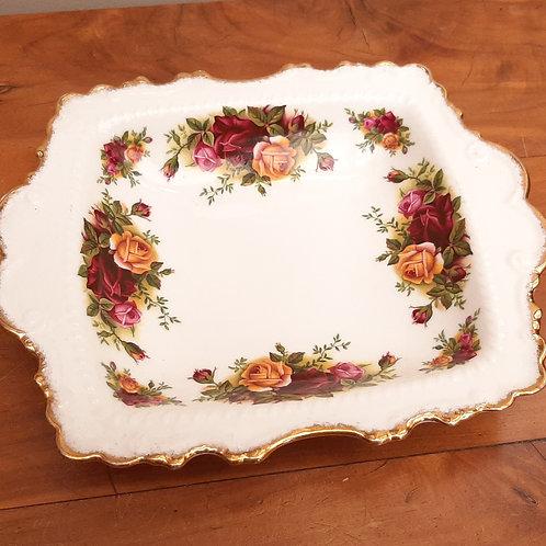 Royal Albert Old Country Roses Large Bonbon Dish