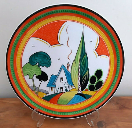 Deco Phil Worsdale Painted Plate Bizarre Style