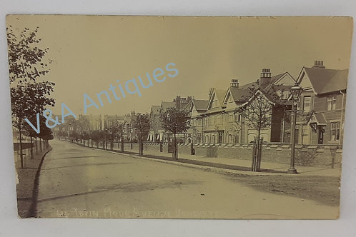Early RP Postcard Town Moor Avenue Doncaster Posted 1905