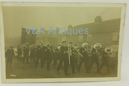 Bentley Colliery Band Procession Unposted Doncaster