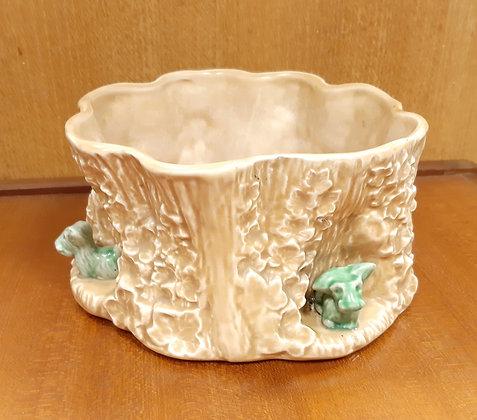 SylvaC Bulb bowl 2062 Tree Trunk & Terriers