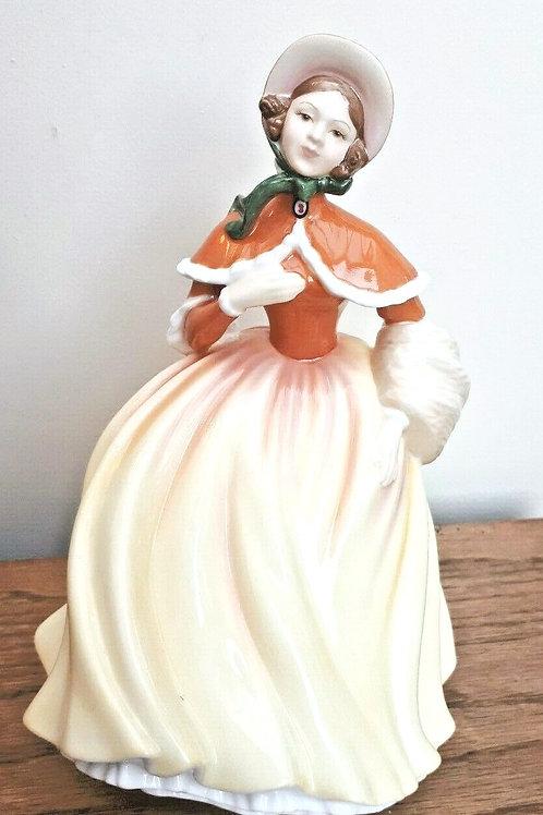 Royal Doulton Seasons Figurine Autumn HN5323