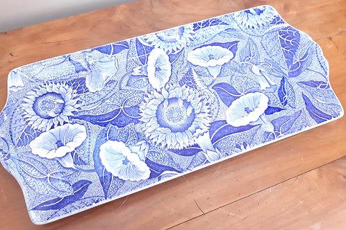Spode Blue Room SUNFLOWER Sandwich Tray