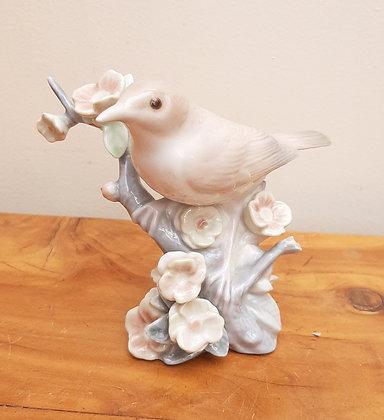 Lladro Figurine Nightingale & Blossom Tree 1226