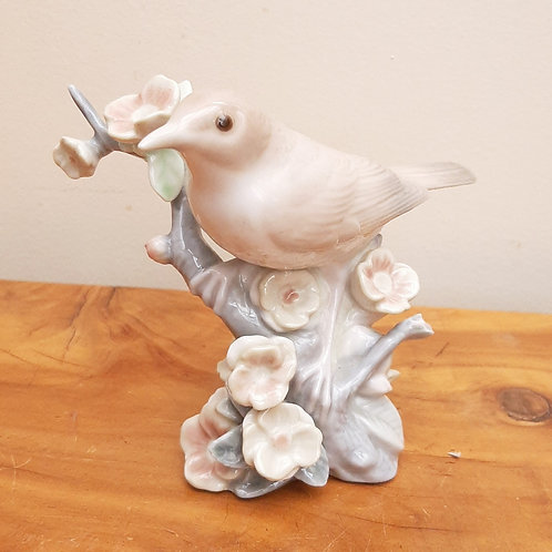 Lladro Figurine Nightingale & Blossom Tree 1226