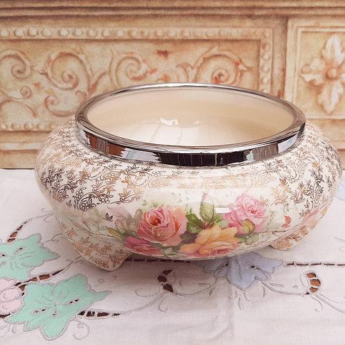 A.J Wilkinson Celtic Rose Chintz Fruit/Salad Bowl