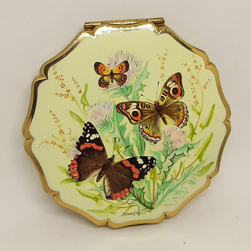 Stratton Queen Convertible Compact Holmes Gray Butterflies