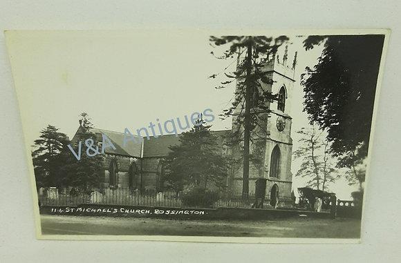 St Michael's Church Rossington Doncaster Postcard