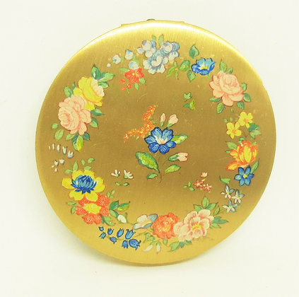 1950s Stratton Scone O/H Floral Ring Garland