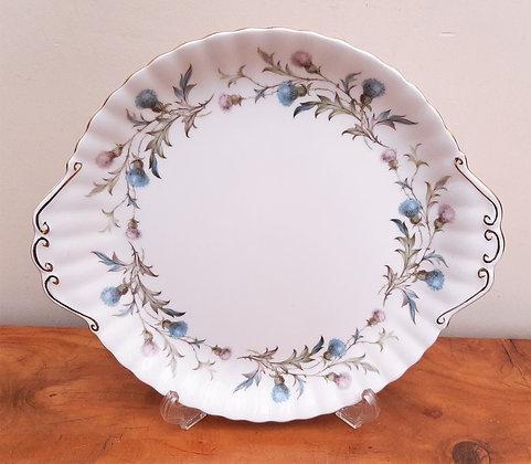 Royal Albert Brigadoon Cake Plate Thistle