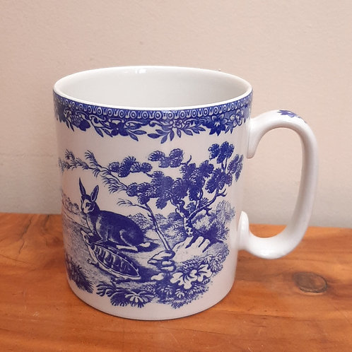 Spode Blue Room Collection mug Aesops Fables