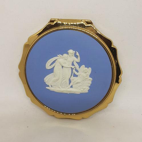 Stratton Queen Convertible Blue Wedgwood Jasperware Unused Complete