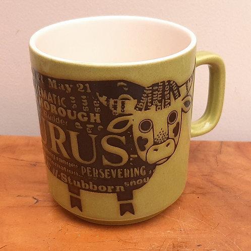 Hornsea TAURUS Zodiac Mug John Clappison
