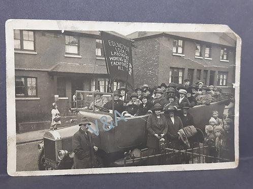 Edlington Labour Party Womens Section RP Postcard