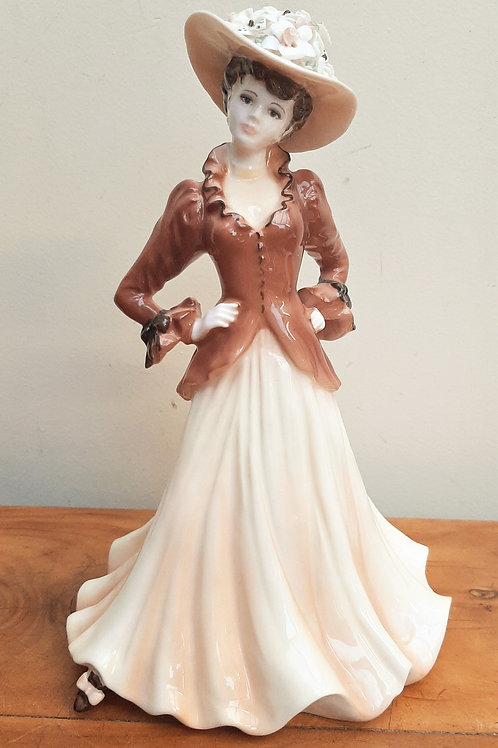 "Coalport Bone China Figurine ""Joan"" 1996"