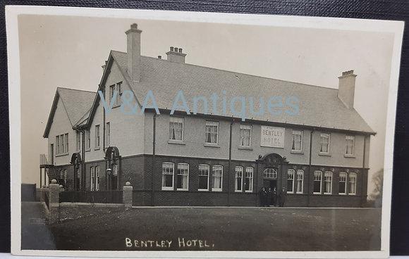 Bentley Hotel (Drum) RP Postcard