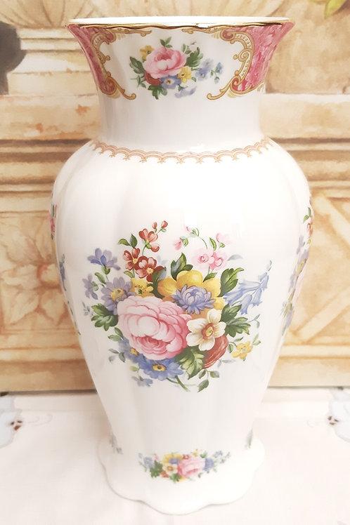 "Rare Royal Albert Lady Carlyle Large 9"" Vase"