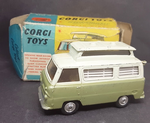 Corgi Die-Cast Ford Thames Airborne Caravan 420 Boxed