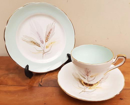 Sutherland China Tea Trio 3360 Rye Grass Mint Interior
