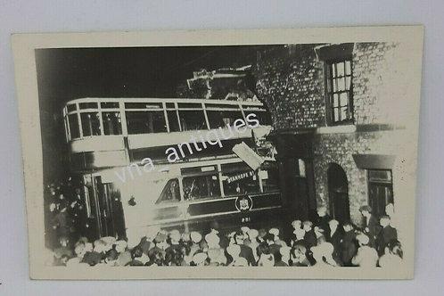 Original RP Doncaster Tram Crash Stanhope Street