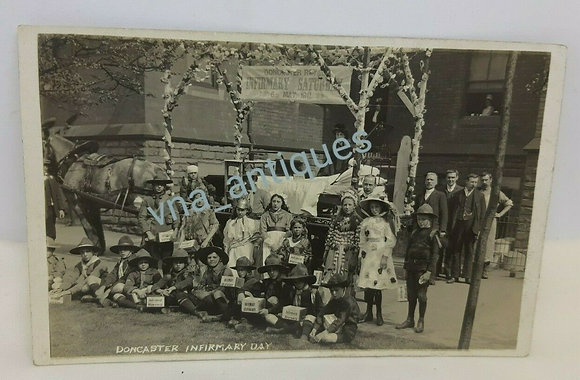 Infirmary Day Doncaster Scout Corp Cart Fancy Dress 1911