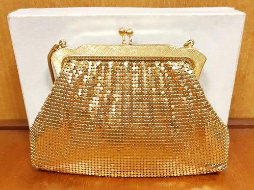 Vintage OROTON Gold Mesh Evening Bag