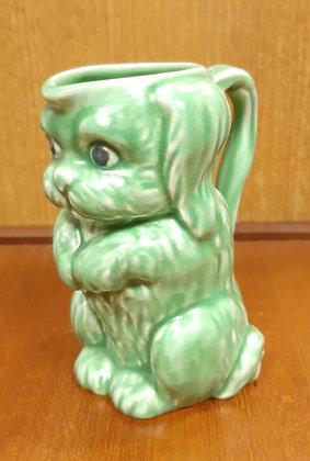 SylvaC Dog Jug 45 Unusual Green Colour