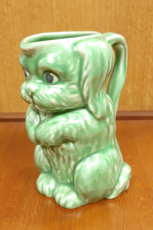 SylvaC Dog Jug 45 Unusual Green Colour