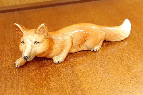 SylvaC Crouching Fox Figurine 1424