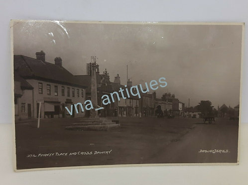 Cross & Marketplace Bawtry Doncaster posted 1929