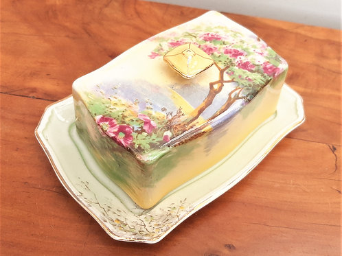 Pretty Royal Winton Butter Dish STANTON