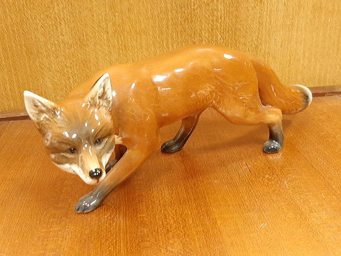 Large SylvaC Gloss Fox Figurine 5209