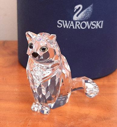 Swarovski Crystal Cat 160799 Boxed