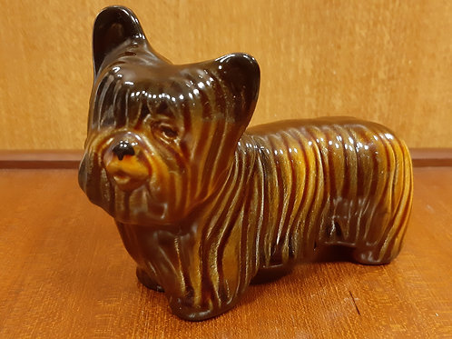 Rare SylvaC 2473 Yorkshire Terrier Brown Gloss