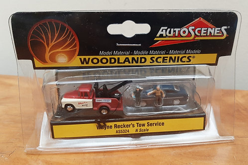 Woodland Scenic N Scale AS5324 Wayne Recker's Tow Service