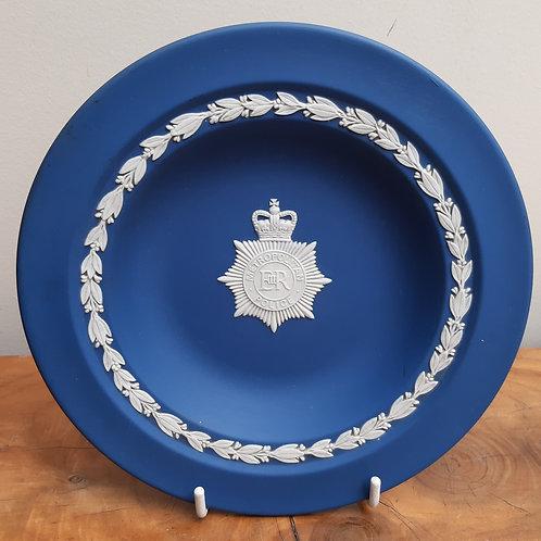Wedgwood Royal Blue Jasperware Metropolitan Police Plate
